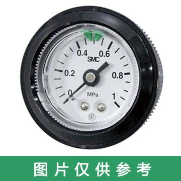SMC G46气动压力表,0.4Mpa,R1/4,G46-4-02M-C