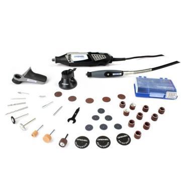 琢美DREMEL 电磨机套装,DREMEL 4000-3/36,打磨机 雕刻机 切割机套装