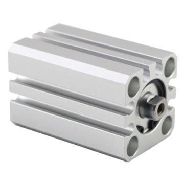 SMC 薄型气缸,单杆双作用,内置磁环,垫缓冲,CDQSB16-45DC
