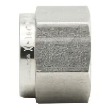 """X-tec N系列卡套螺母,不锈钢316,英制,XY-SS-N-K4F,1/4"""""""