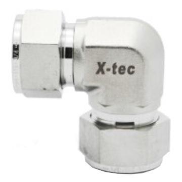 """X-tec UL系列等径两通直角接头,不锈钢316,英制,XY-SS-UL-K4F,1/4"""""""