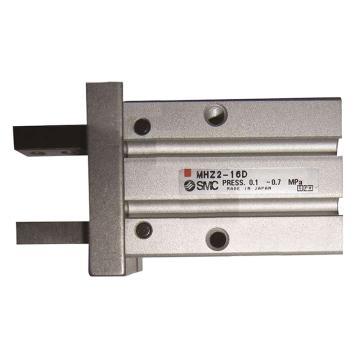 SMC 平行开闭型气爪,单作用(常开),通孔安装,MHZ2-10S2
