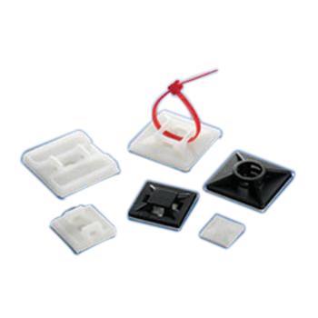 粘式配线固定座,线宽5.5,固定孔5 100个/包