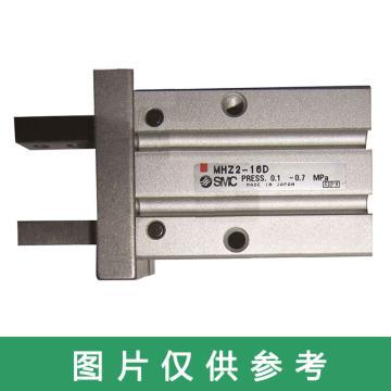 SMC 平行开闭型气爪,长行程,单作用(常开),MHZL2-16S