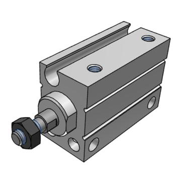 SMC 小型自由安装型气缸,CDUJB10-25DM
