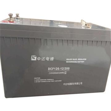 中達電通 蓄電池 DCF126-12/100