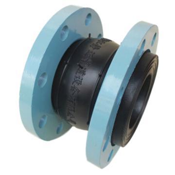 静迈 可曲挠橡胶接头,天然橡胶,碳钢烤漆法兰,KXT-F-2,DN250,PN16
