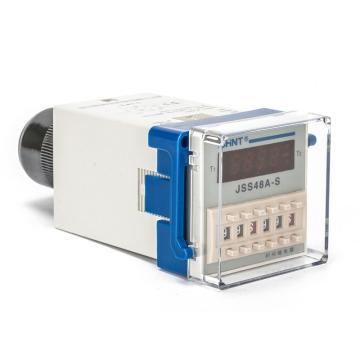 正泰CHINT JSS48A系列时间继电器,JSS48A AC220V