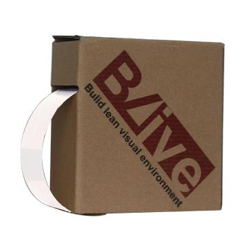 Blive 警示划线反光地贴胶带,50mm×22m,白色,BL-RL-50-WT