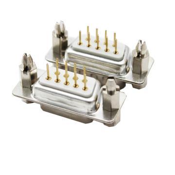 煌林 镀金白胶芯 公座180度带鱼叉,DP9焊板座子