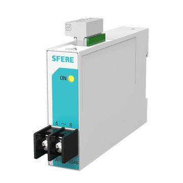斯菲尔/SFERE 单路电压变送器,JD194-BS4U(0.5级) In:AC100V OUT:DC4-20mA