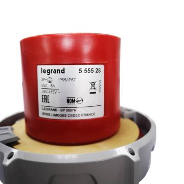 羅格朗Legrand 連接插頭,IP 66/67 AC 380/415V 63A 3P+E,555528