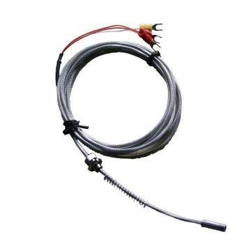 双支端面热电阻,WZPM2-201B,L=10000mm,Φ6×18,压板