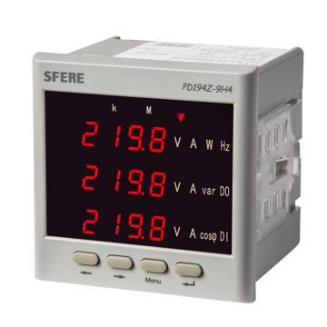 斯菲尔/SFERE 多功能谐波表,PD194Z-9H4 AC380V 5A-3P4W