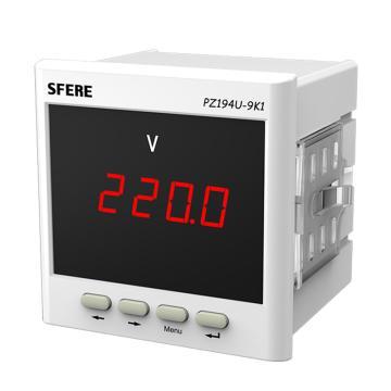 斯菲尔/SFERE 单相数显电压表,PZ194U-9K1 AC100V