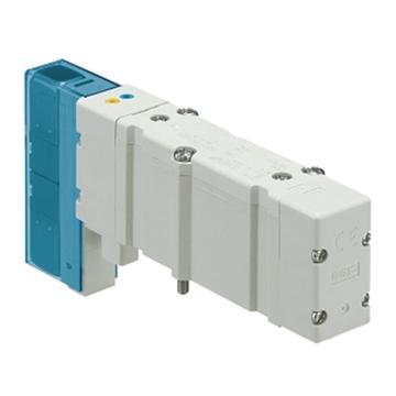SMC 电磁阀盖板组件,适用SY5000系列,插入式金属底板用,SY5OM-26-2A