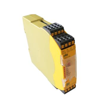 皮尔兹Pilz 安全继电器,750104 PNOZ s4 24VDC 3 n/o 1 n/c