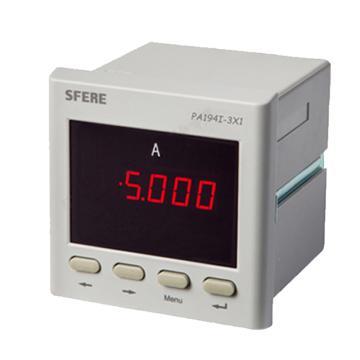 斯菲尔/SFERE 单相数显电流表,PA194I-3X1 AC1A