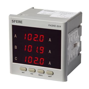 斯菲尔/SFERE 三相数显电流表,PA194I-9X4 AC5A
