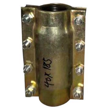 西域推薦 鋼板管道堵漏器哈夫節,規格*長度(mm),DN80*300