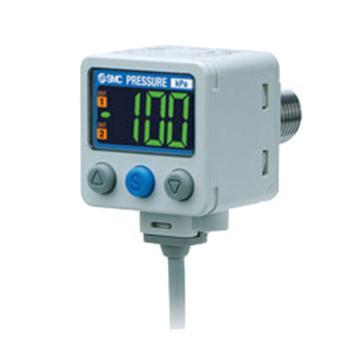 SMC 压力开关,额定压力-0.1~2MPa,ISE80H-02L-B