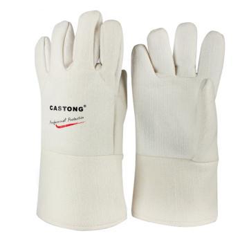 卡司顿 隔热手套,NFFF15-34,300°5指可接触食品耐高温手套