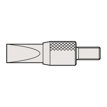 三丰 mitutoyo 刀面测头,测厚仪百分表用,120067,不含第三方检测
