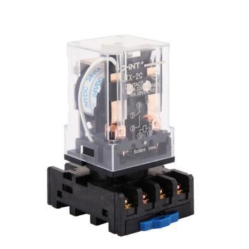 正泰CHINT JTX小型电磁继电器,JTX-2C DC12V