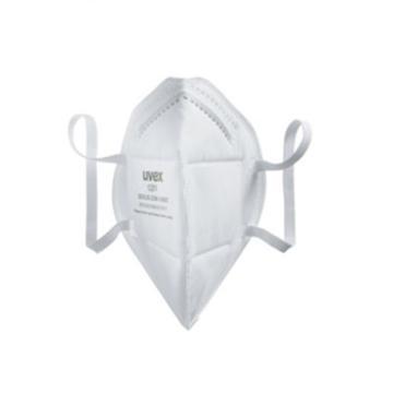 优唯斯UVEX 防尘口罩,8721201,Silv-Air e 12001折叠耳戴式防尘口罩,30只/盒