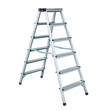 金锚 铝合金梯凳,踏板数:6 额定载荷(KG):150 工作高度(米):1.32,LFD132AL