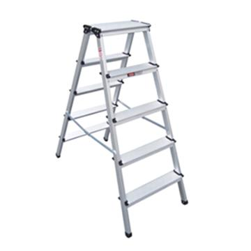 金锚 铝合金梯凳,踏板数:5 额定载荷(KG):150 工作高度(米):1.1,LFD115AL