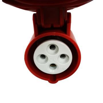 罗格朗 移动插座,IP44 380V 16A 3P+E,057508