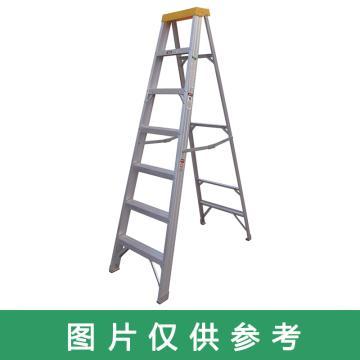 金锚 铝合金单侧梯,踏板数:4 额定载荷(KG):150 工作高度(米):1.33,AO21-104
