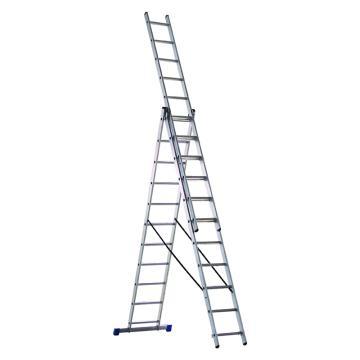 金锚 铝合金多功能组合梯 踏棍数:3 x 11 最大承重(KG):260 人字梯高度(米):2.93,CE3x11A