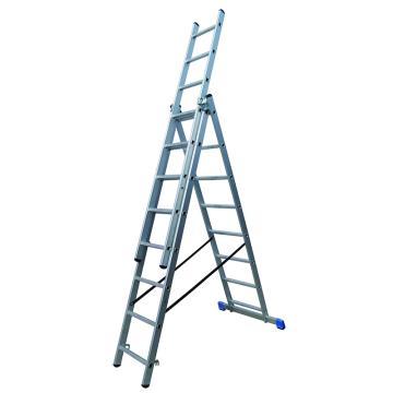 金锚 铝合金多功能组合梯 踏棍数:3 x 8 最大承重(KG):260 人字梯高度(米):2.15,CE3x8