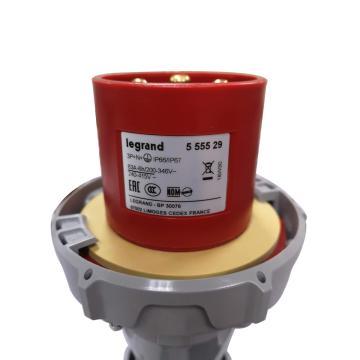 羅格朗Legrand 連接插頭,IP 66/67 AC 380/415V 63A 3P+N+E,555529