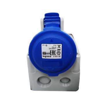 罗格朗 明装插座,IP44 230V 16A 3P+E,555155
