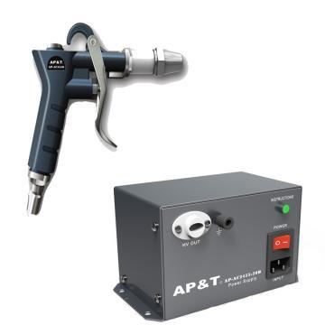 安平 离子吹尘枪1把,高压电源供应器1台,一拖一,AP-AC2456+AP-AC2455-28A