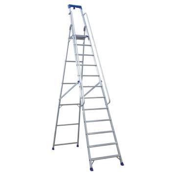 金锚 铝合金高强度工作梯,踏板数:12 最大承重(KG):260 工作高度(米):2.79,AO19-112