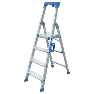 金锚 铝合金高强度工作梯,踏板数:4 最大承重(KG):260 工作高度(米):0.90,AO19-104