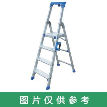 金锚 铝合金高强度工作梯,踏板数:5 最大承重(KG):260 工作高度(米):1.14,AO19-105