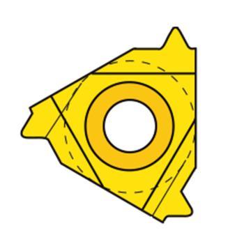瓦格斯/VARGUS內螺紋刀片,2IR1.5ISO VM7,10片/盒