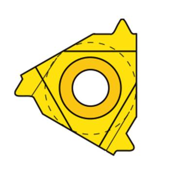 瓦格斯/VARGUS內螺紋刀片,2IR0.75ISO VM7,10片/盒