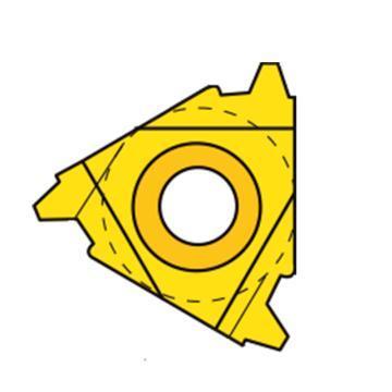 瓦格斯/VARGUS內螺紋刀片,3IR1.5TR VM7,10片/盒