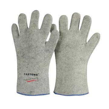 卡司頓 隔熱手套,GKKK35-33,300°5指耐高溫手套