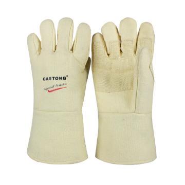 卡司顿 隔热手套,ABY-5T-34,500°耐高温手套 黄色