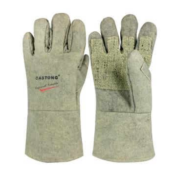 卡司顿 隔热手套,ABG-5T-34,500°耐高温手套 绿色