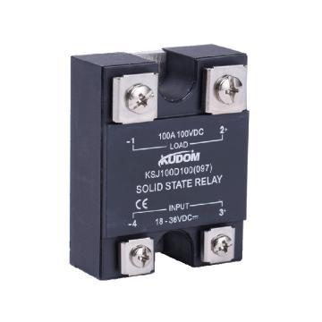 库顿KUDOM 常开型直流输出固体继电器,面板安装,KSJ100D80-LT