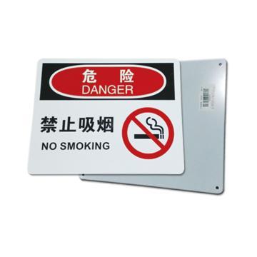安赛瑞 OSHA危险安全标识牌(空白书写款),ABS板,250×315mm,10525