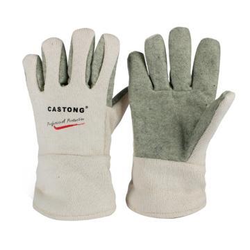 卡司顿 隔热手套,GEII15-29,400°5指耐高温手套